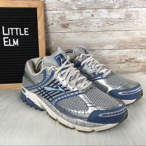 Brooks Shoes - Brooks Ariel Women's Running Shoe Silver Blue